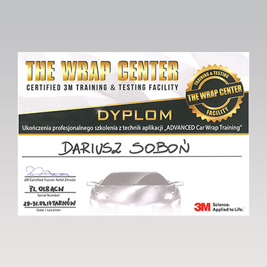 The Wrap Center, Certified 3M Training & Testing Facility